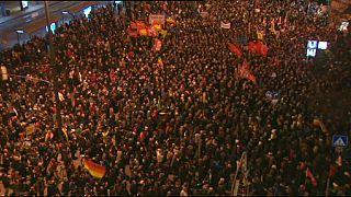مظاهرات مناهضة وأخرى مؤيدة للإسلام في ألمانيا