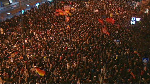 Almanya'da Pegida'ya karşı gösteri