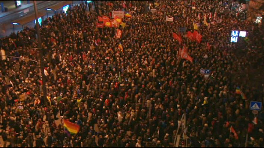Anti-Islamisation rallies in Dresden and other German cities