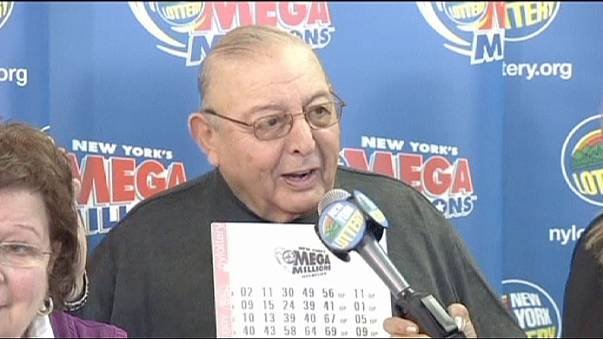 Diamond, 80, wins New York State's biggest lotto prize