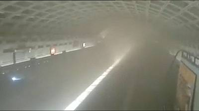 One dead after Washington metro train fills with smoke