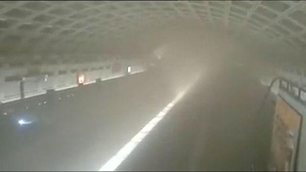 Ismeretlen eredetű füst a washingtoni metróban