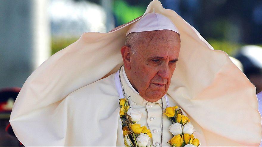 Le pape entame une visite de deux jours au Sri Lanka