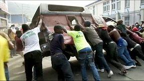 Haití: choques entre manifestantes antigubernamentales y la policía