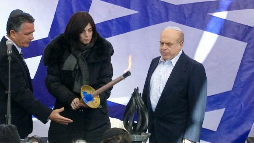 Trauer in Israel: Beisetzung der jüdischen Opfer der Pariser Supermarkt-Geiselnahme in Jerusalem
