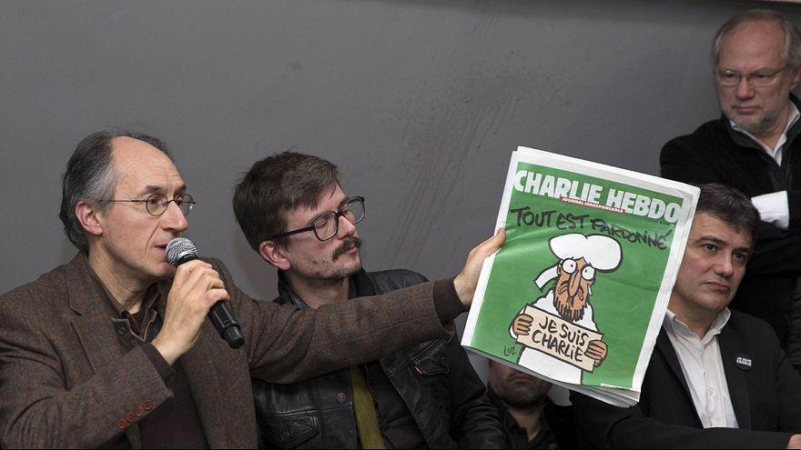 """Charlie Hebdo regresa este miércoles con Mahoma en la portada y perdonando """"todo"""""""