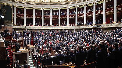 Frankreichs Nationalversammlung gedenkt der Toten von letzter Woche