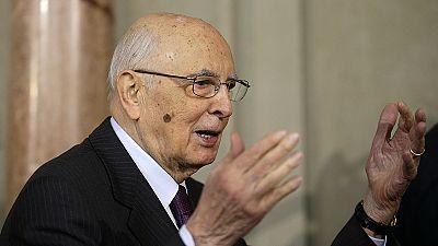 Giorgio Napolitano, o primeiro ex-comunista a morar no Quirinale está de saída