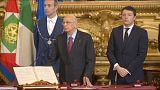 Italie : le président Giorgio Napolitano s'en va