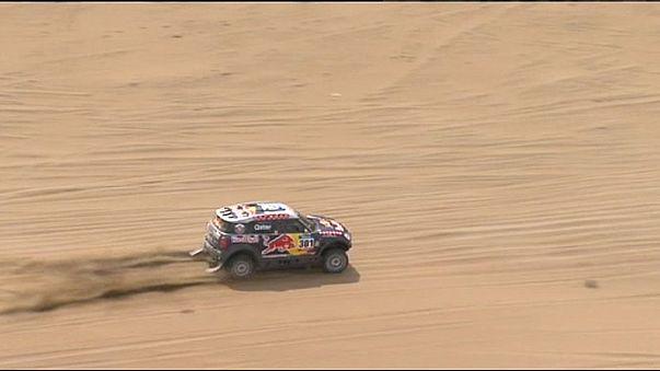 Dakar Rallisi: Dokuzuncu etabın en hızlısı Rodriguez