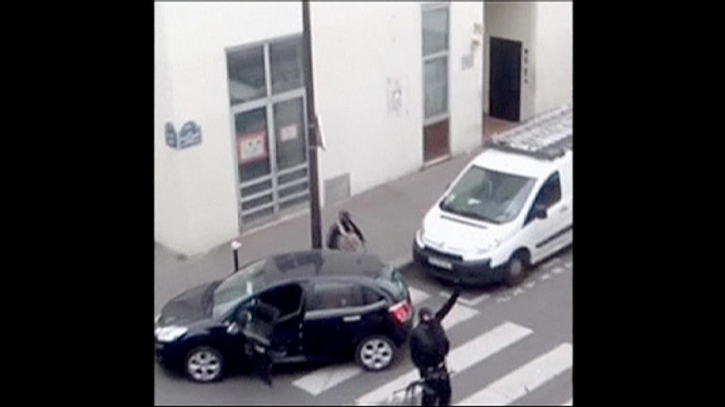 New footage emerges of Charlie Hebdo terrorist attack