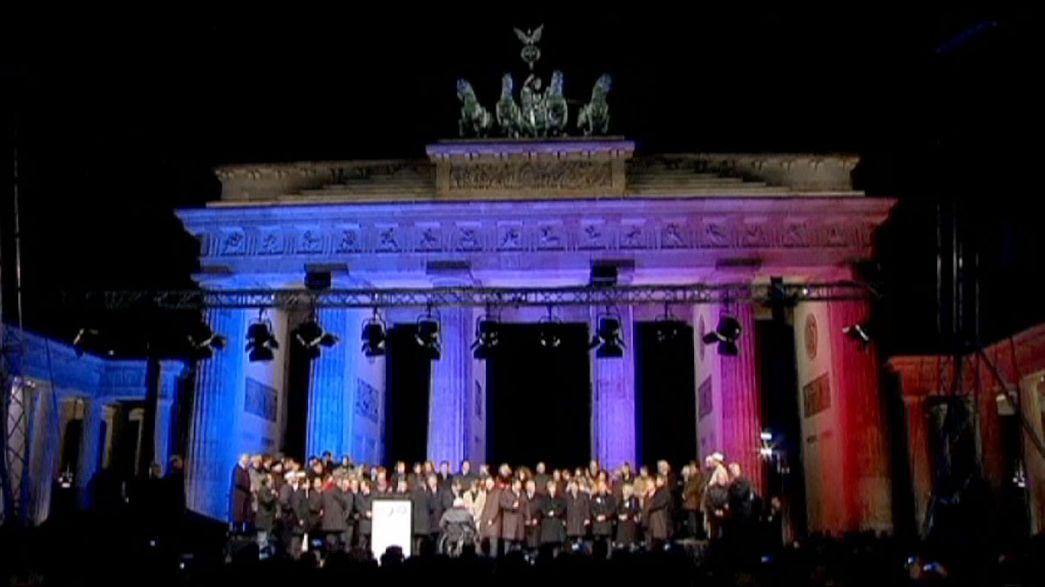 Mahnwache am Brandenburger Tor: Muslime, Juden und Christen setzen Ausrufezeichen