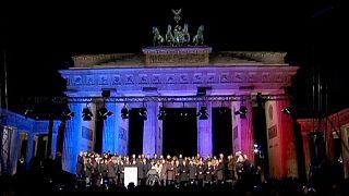 Германия: манифестация против терроризма и ксенофобии