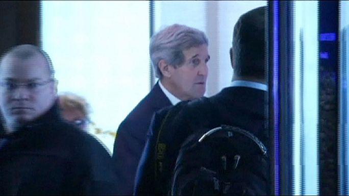 Kerry nükleer müzakereler için Cenevre'de