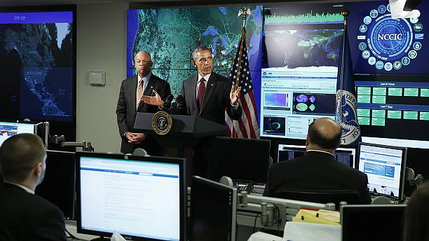 Obama pushes for tougher cyber security laws following hack attacks against Sony and US military