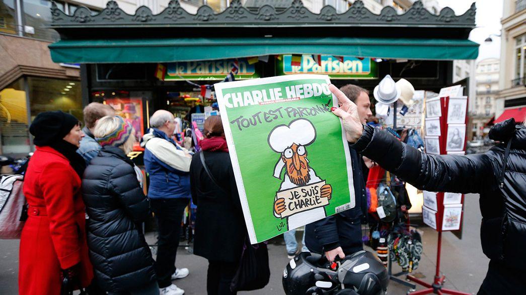 """Agotado en toda Francia el número especial de """"Charlie Hebdo"""""""