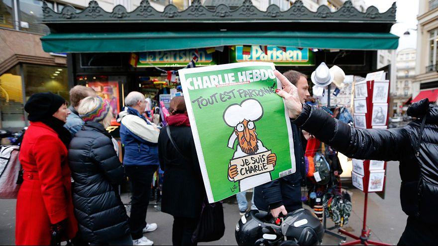 """فرنسا: إقبال غير مسبوق على """"شارلي ايبدو"""""""