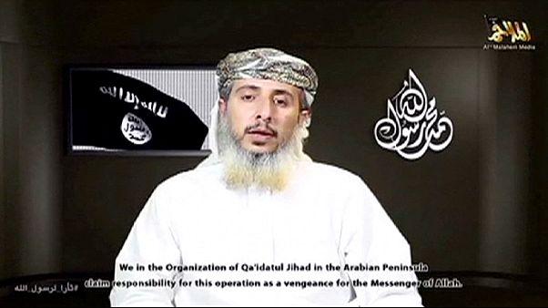 القاعدة في جزيرة العرب تتبنى الهجوم على صحيفة شارلي ايبدو