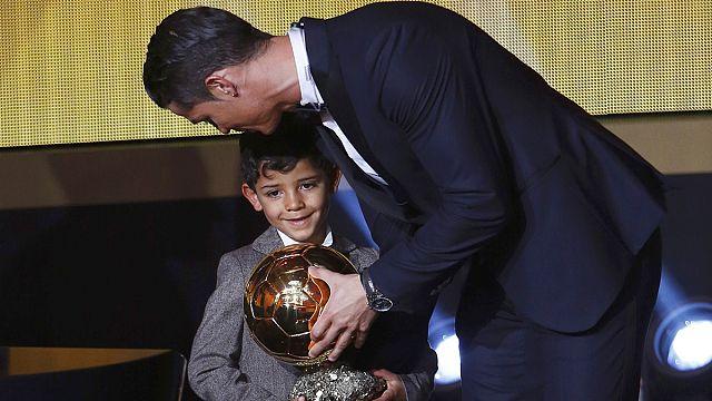 Ronaldo Jr gets starstruck in presence of hero Messi