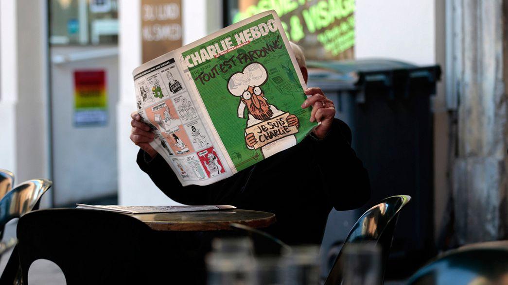 Charlie Hebdo bate recorde de vendas