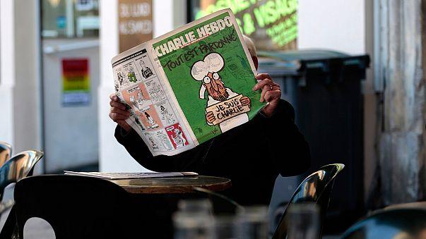 Исторический номер Charlie Hebdo: кто рано встает...