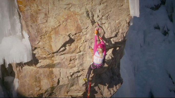 Canada's Will Gadd triumphs at Colorado ice climbing contest