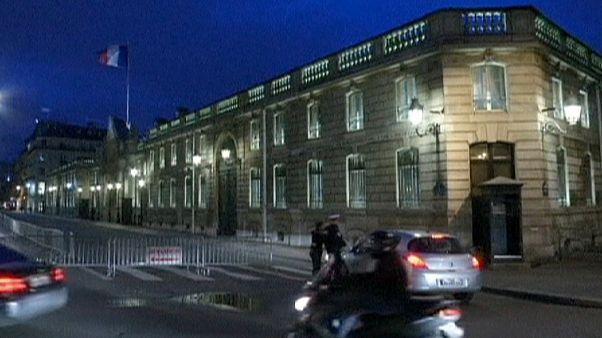 Париж: ночной инцидент вблизи Елисейского дворца
