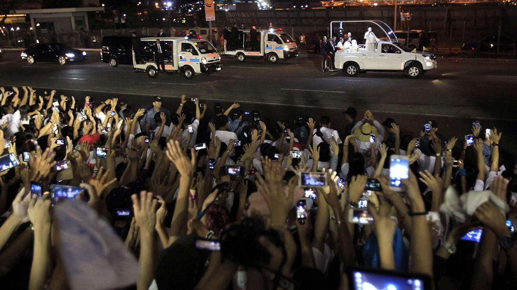 Filipinas se paraliza para recibir al Papa Francisco