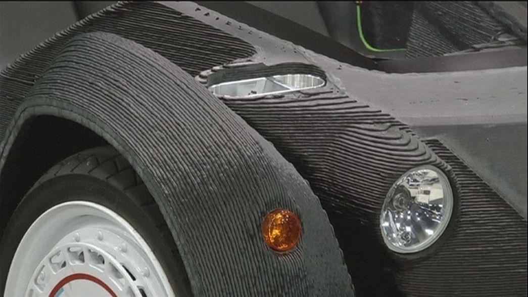 3D baskılı araç Strati satışa hazır