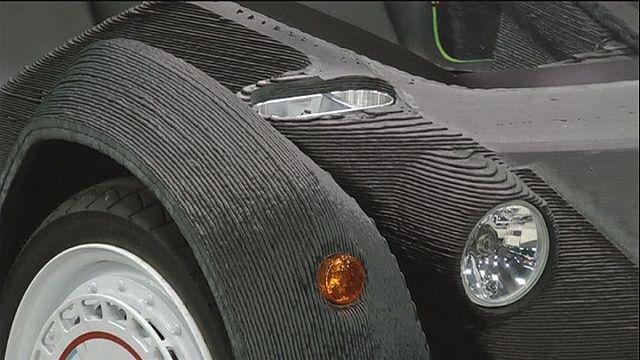 Auto aus dem 3D-Drucker