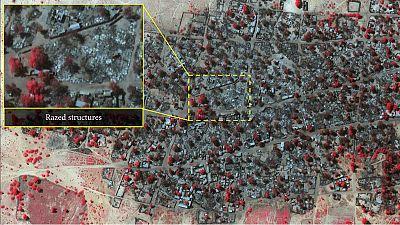 Nigéria : atrocités de Boko Haram vues du ciel