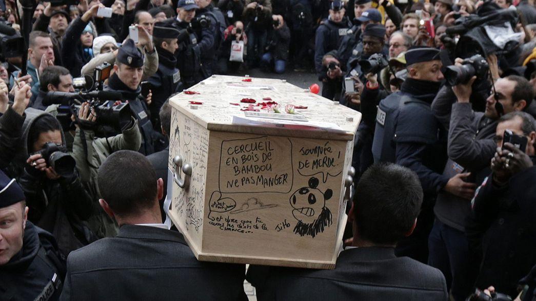 """Weitere Opfer des """"Charlie-Hebdo""""-Anschlags beigesetzt"""