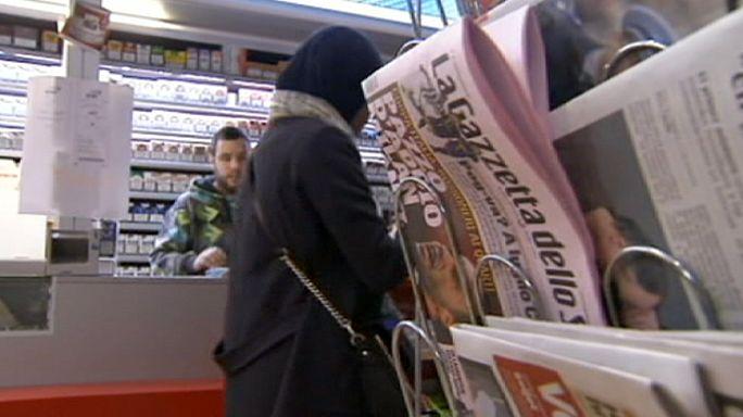 Belçika'da Charlie Hebdo satan gazete bayilerine tehdit