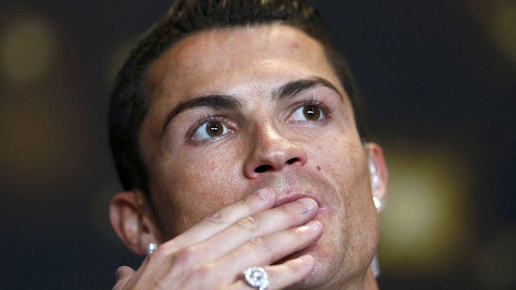 Mais um prémio numa semana de ouro para Cristiano Ronaldo