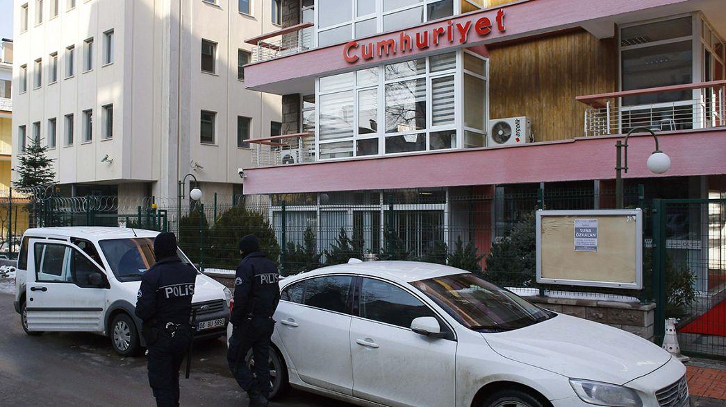 Europaparlament wirft Türkei Mißachtung der Medienfreiheit vor