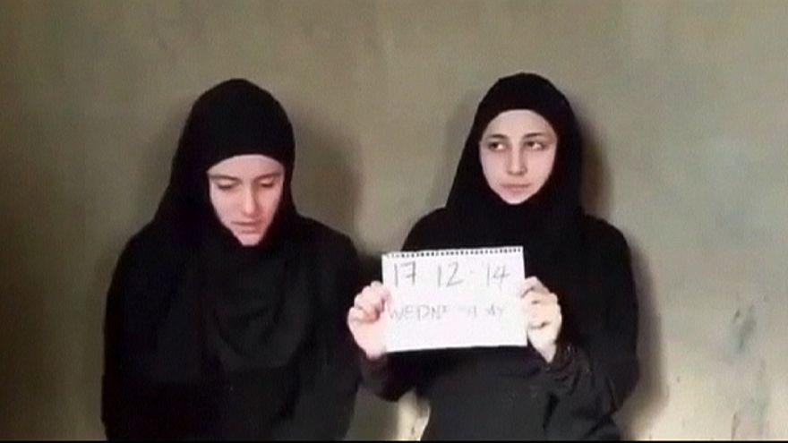 Voluntárias italianas raptadas na Síria regressam a casa