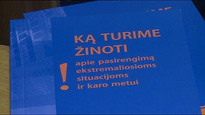 "Lithuanians advised to keep calm in new ""war manual"""