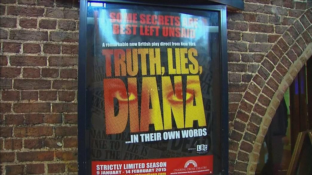 Torna a teatro il fantasma di Lady Diana
