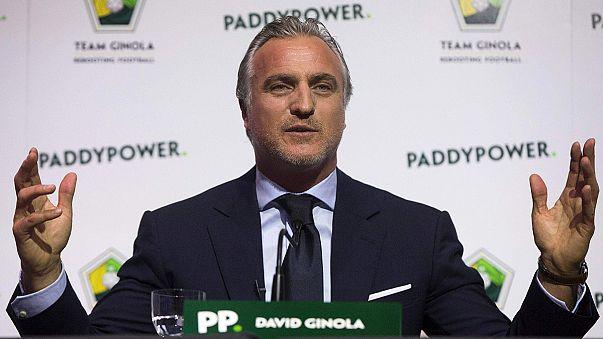 David Ginola quiere ser presidente de la FIFA