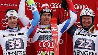 فوز كارلو يانكا بسباق السوبر كومبيني في وينغن بسويسرا