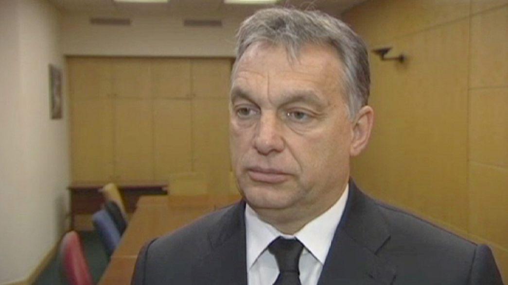 رئيس الوزراء المجري يدعو الاتحاد الأوربي إلى وقف الهجرة