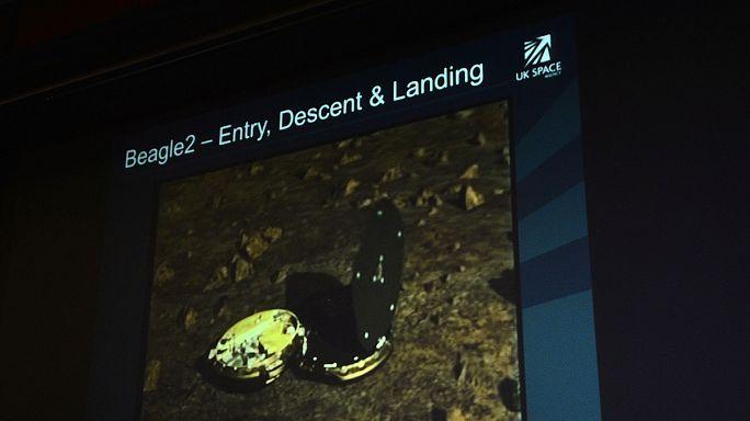 Meglett a 13 éve eltűnt brit Mars-szonda