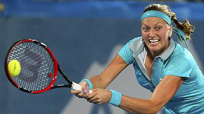 Kvitova warms up for Australian Open with Sydney win