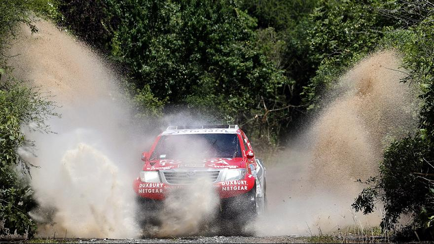 Al-Attiyah and Coma on track for Dakar titles
