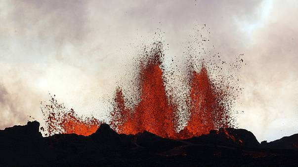 The Bardarbunga volcano in Iceland: A masterpiece of Mother Nature