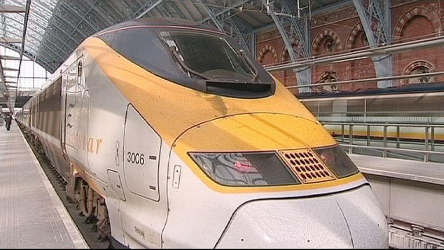 Eurostar suspende su servicio tras detectarse humo en el túnel bajo el Canal de la Mancha