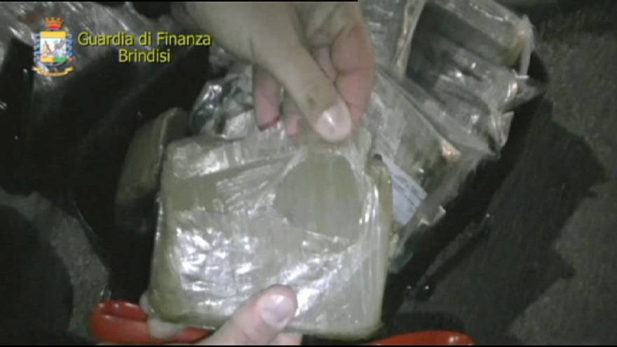 Óriási drogfogás az olasz csizma sarkán