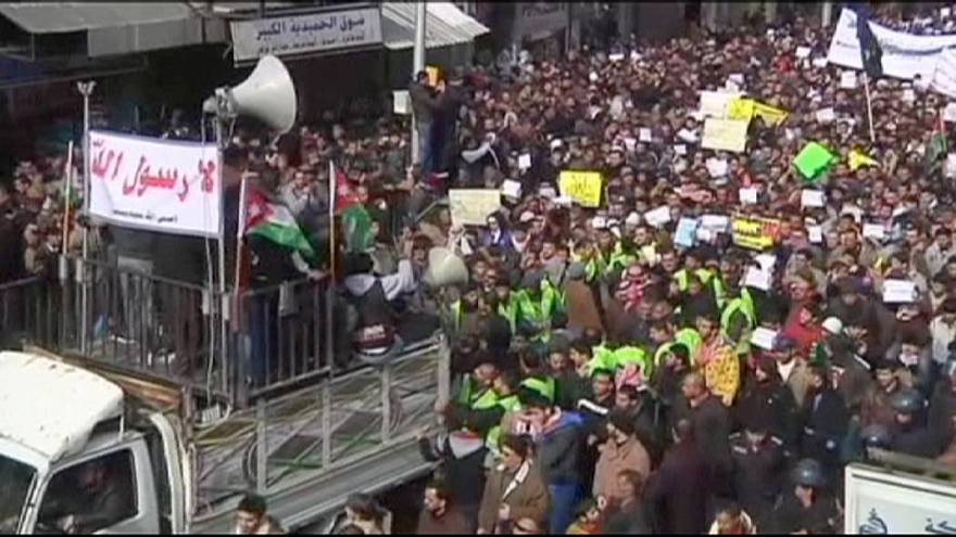 Jordan: Anti-Charlie Hebdo demonstrations