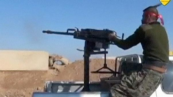 Combates entre las fuerzas kurdas y el régimen en el noreste de Siria