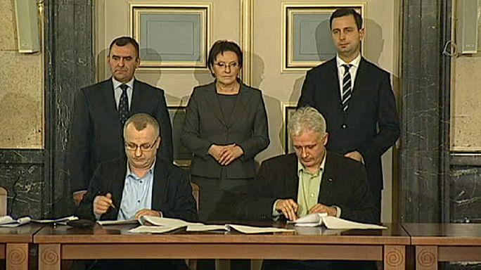 توافق دولت لهستان با کارگران معترض معادن زغال سنگ